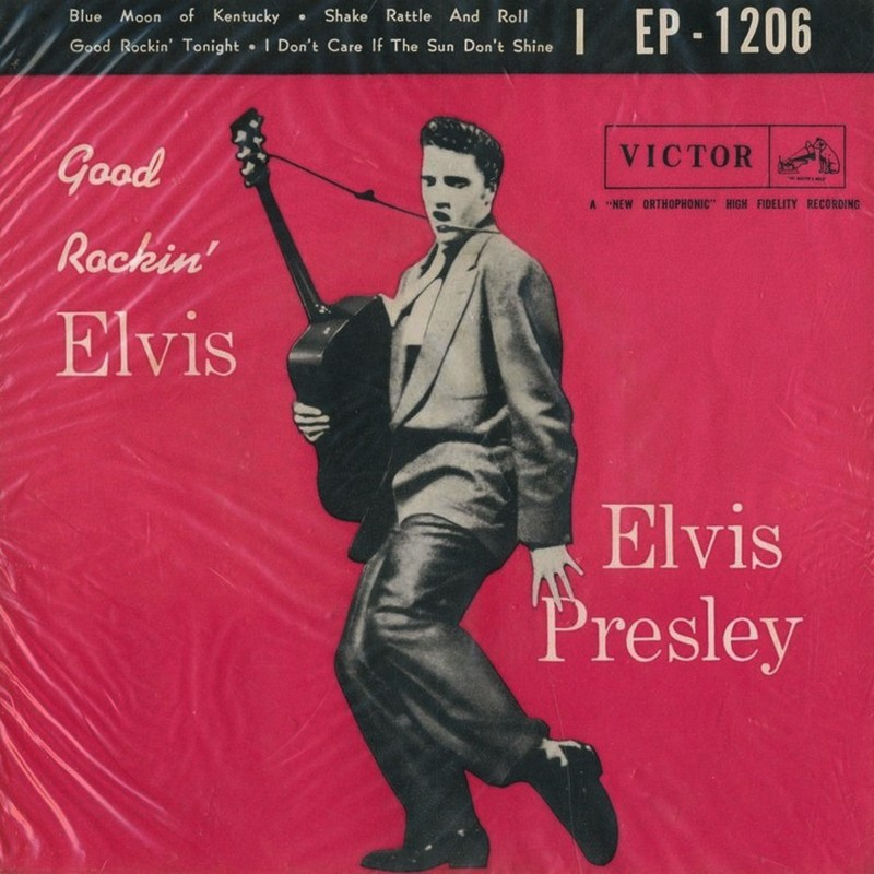 EP-1206 Good Rockin Elvis (Japan)