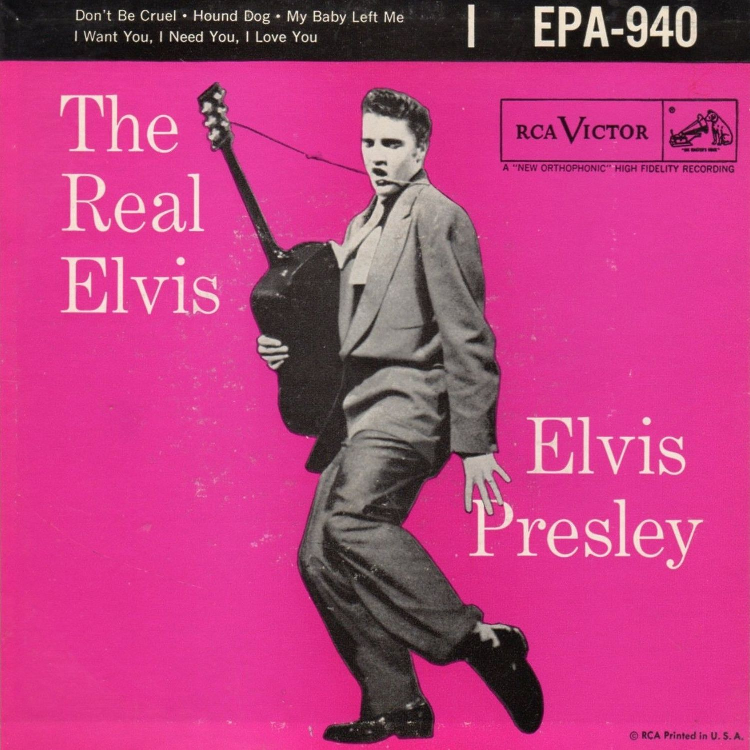 EPA-940 The Real Elvis A (USA)
