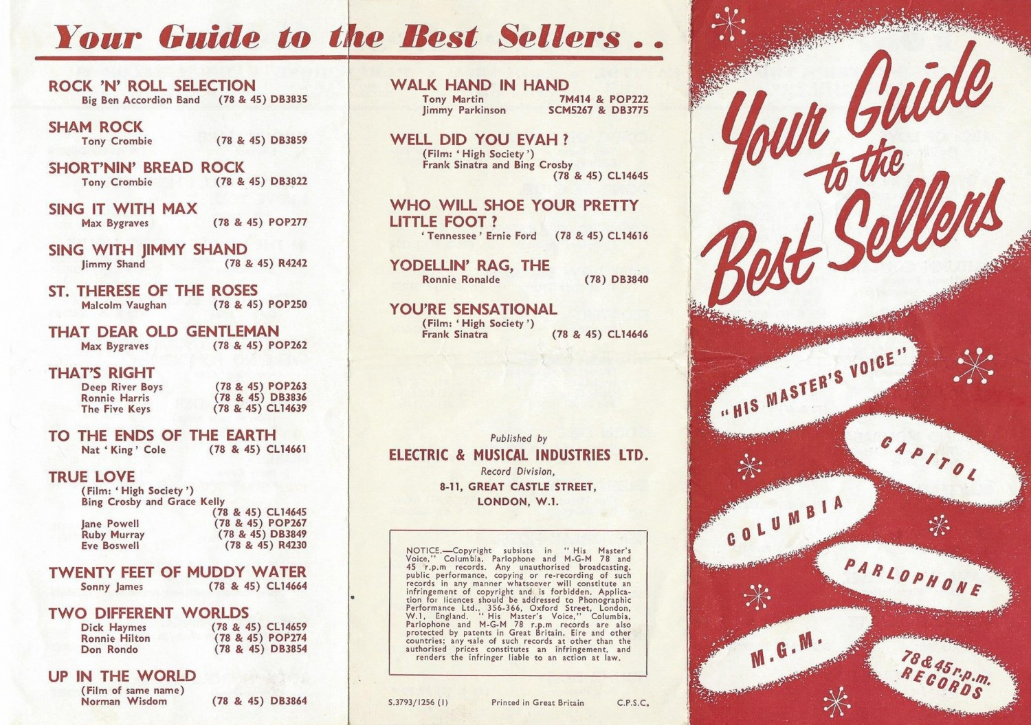 HMV Your Guide To Best Sellers 1956-12 (Alan White) 01