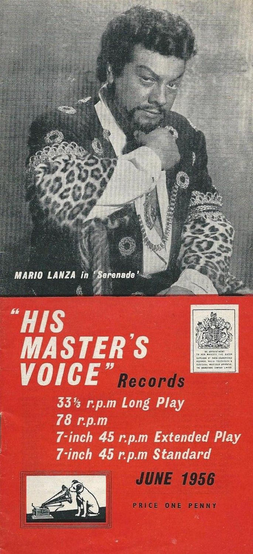 HMV pamphlet 1956-06 (Alan White) 01