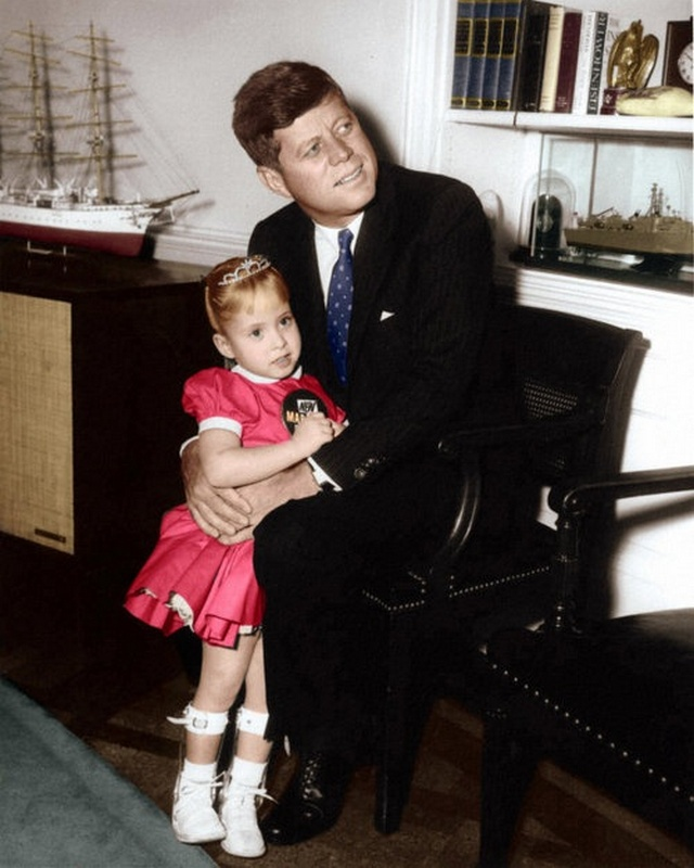 JFK with Debbie Sue Brown (January  12, 1962)