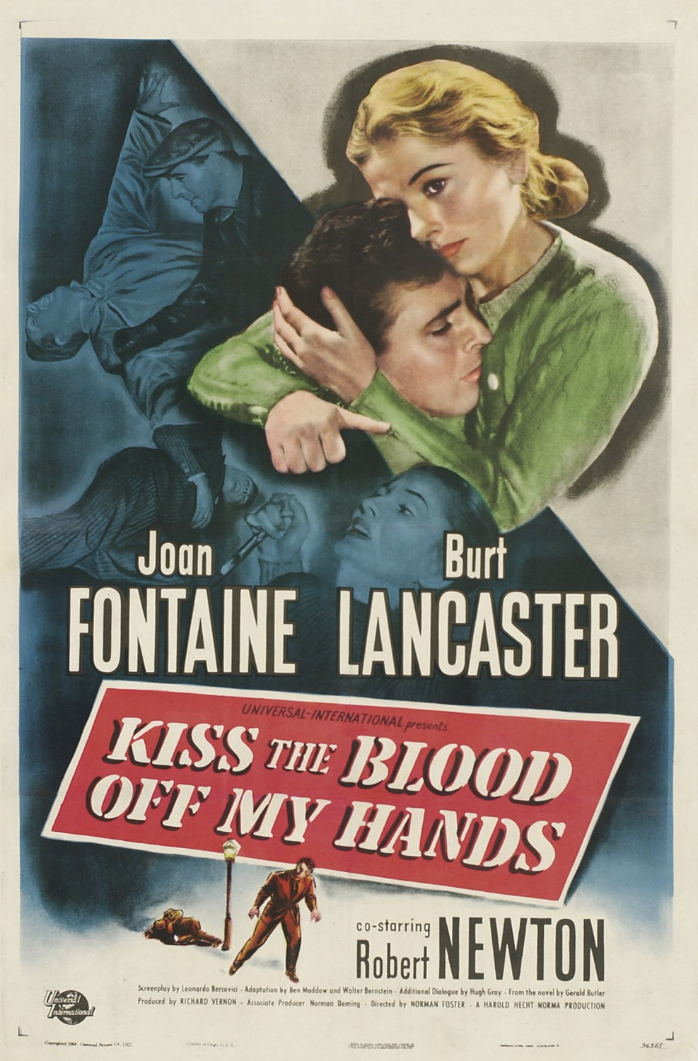 Kiss the Blood Off My Hands (1948)