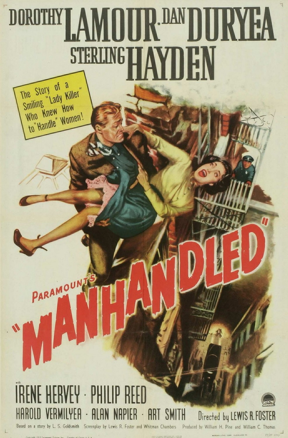 Manhandled (1949)