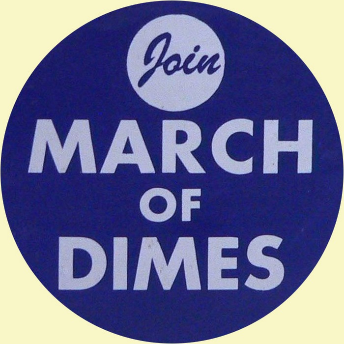 March Of Dimes pin