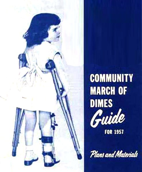 March Of Dimes poster 1957