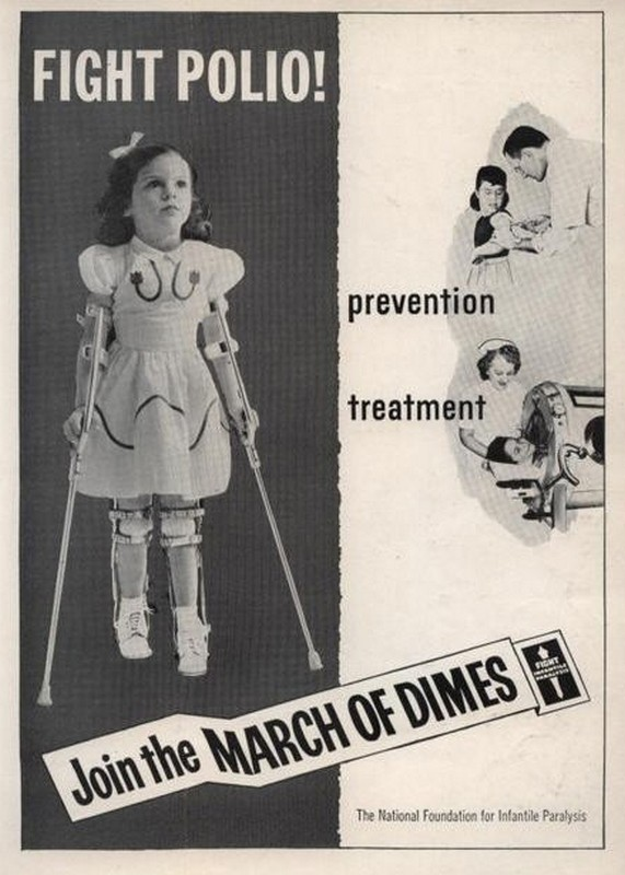 Mary Kosloski (March Of Dimes poster girl 1955)