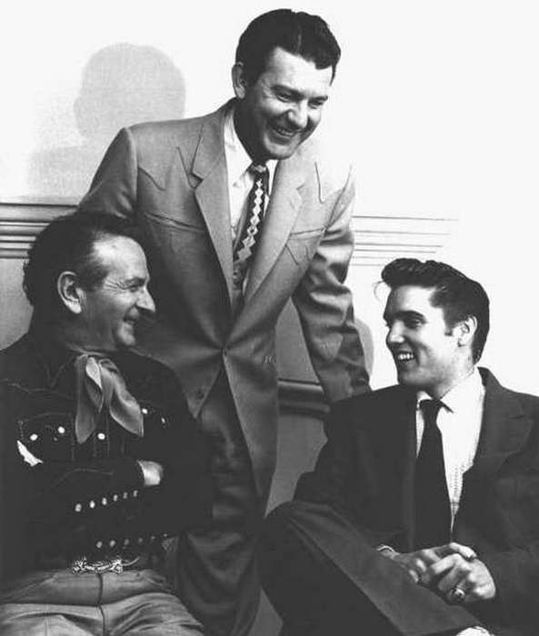 Nudie, Tex Williams, Elvis