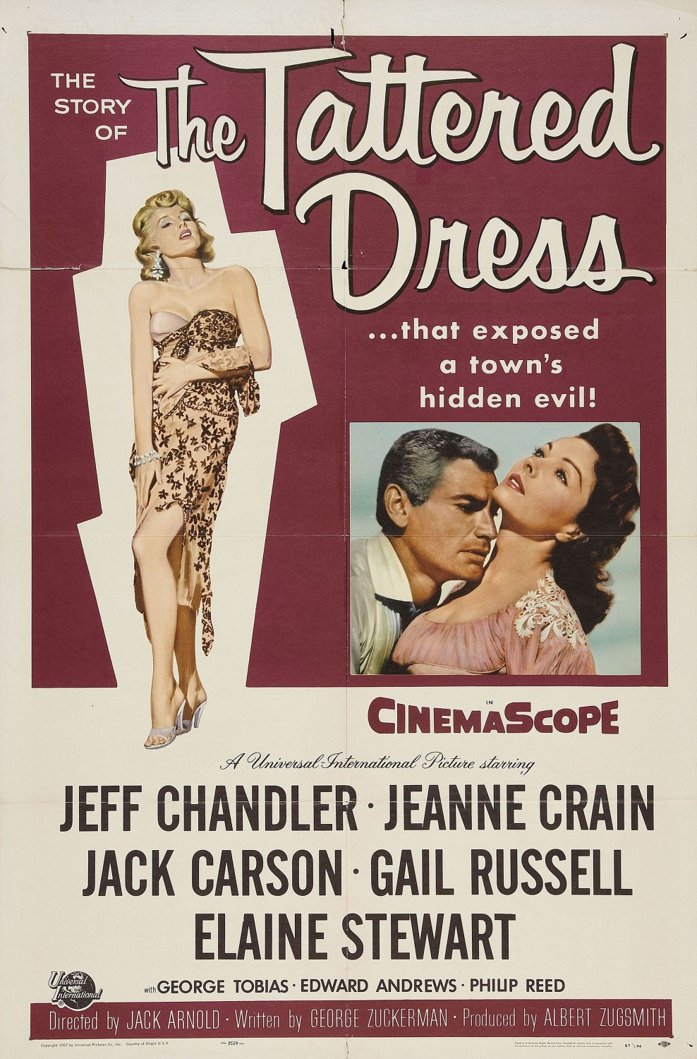 The Tattered Dress (1957)