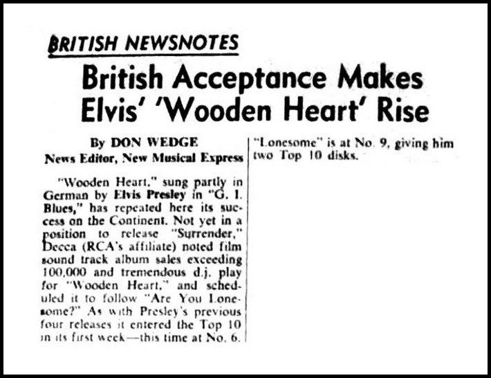 UK (March 13, 1961)