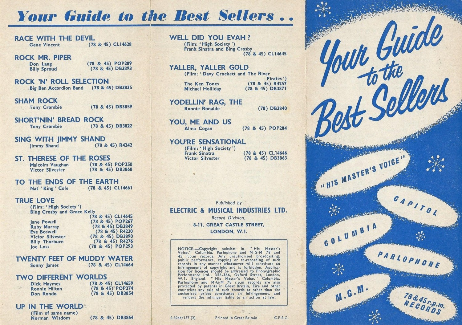 HMV Your Guide To Best Sellers 1957-01 (Alan White) 01