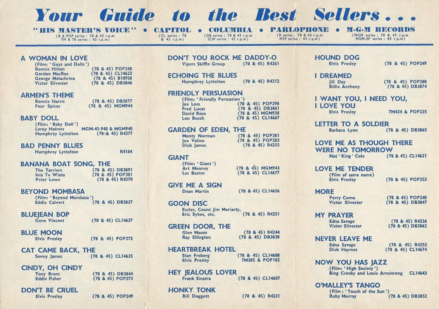 HMV Your Guide To Best Sellers 1957-01 (Alan White) 02