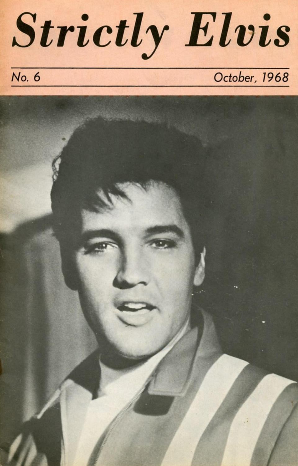 Strictly Elvis No. 6 October 1968 01