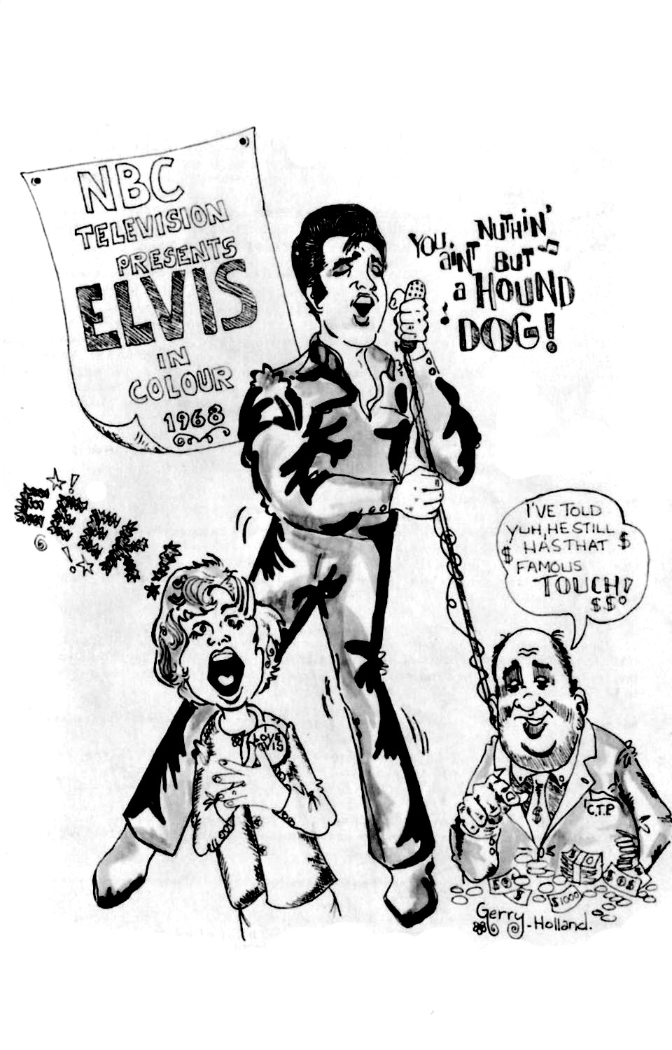 Strictly Elvis No. 6 October 1968 27