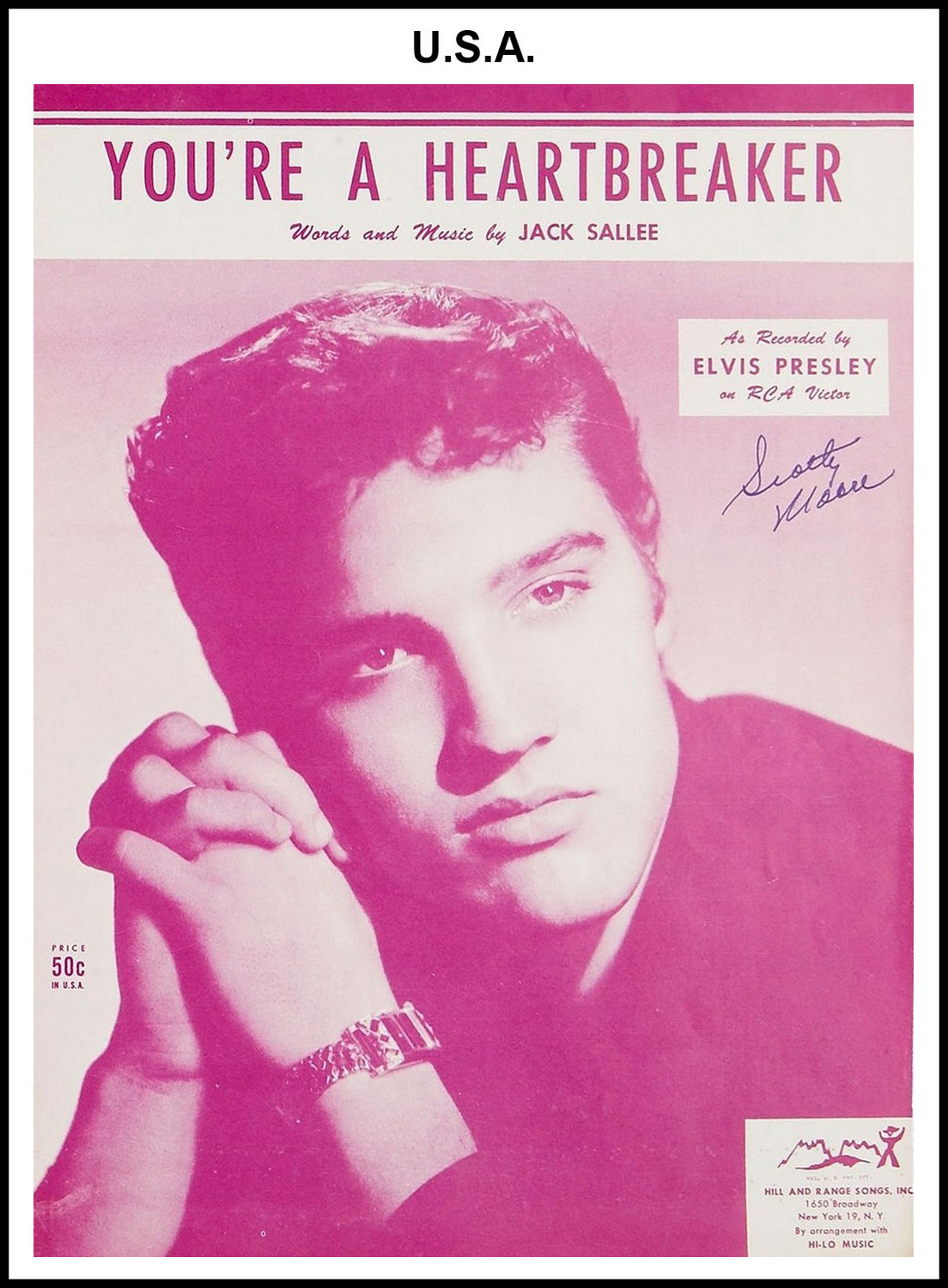 1954 - You're A Heartbreaker (USA 50c)