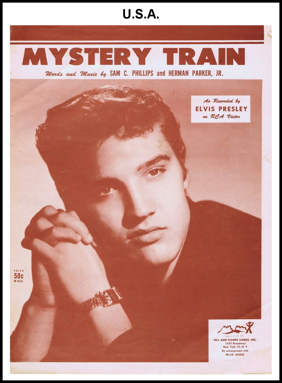 1955 - Mystery Train (USA 50c) (CHRIS GILES COLLECTION)