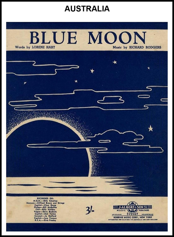 1956 - Blue Moon (Australia)