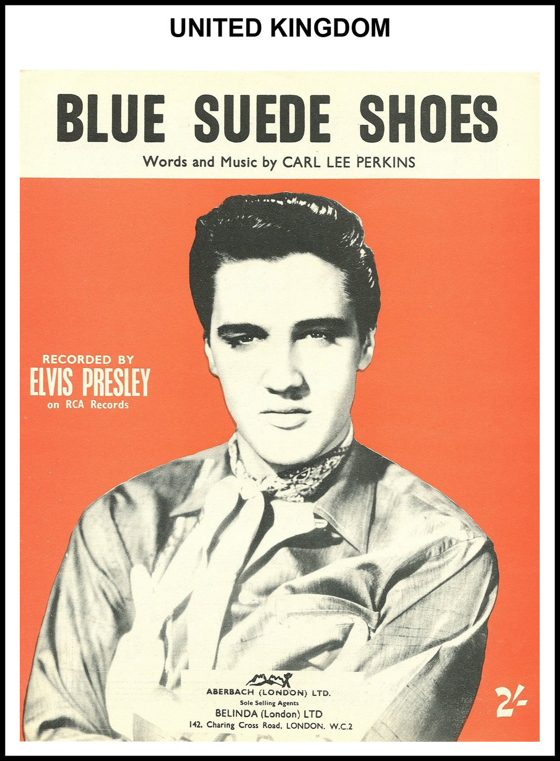 1956 - Blue Suede Shoes (UK) (CHRIS GILES COLLECTION)