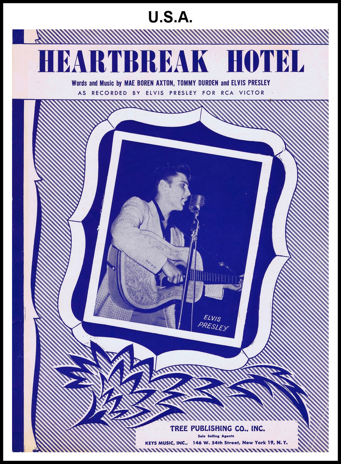 1956 - Heartbreak Hotel (USA) (CHRIS GILES COLLECTION)