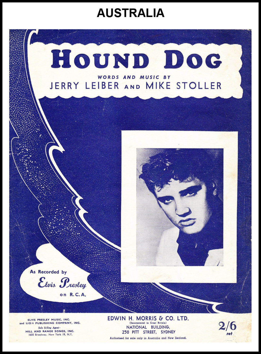 1956 - Hound Dog (Australia) (CHRIS GILES COLLECTION)