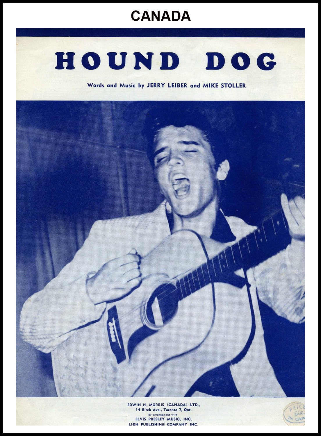 1956 - Hound Dog (Canada) (CHRIS GILES COLLECTION)