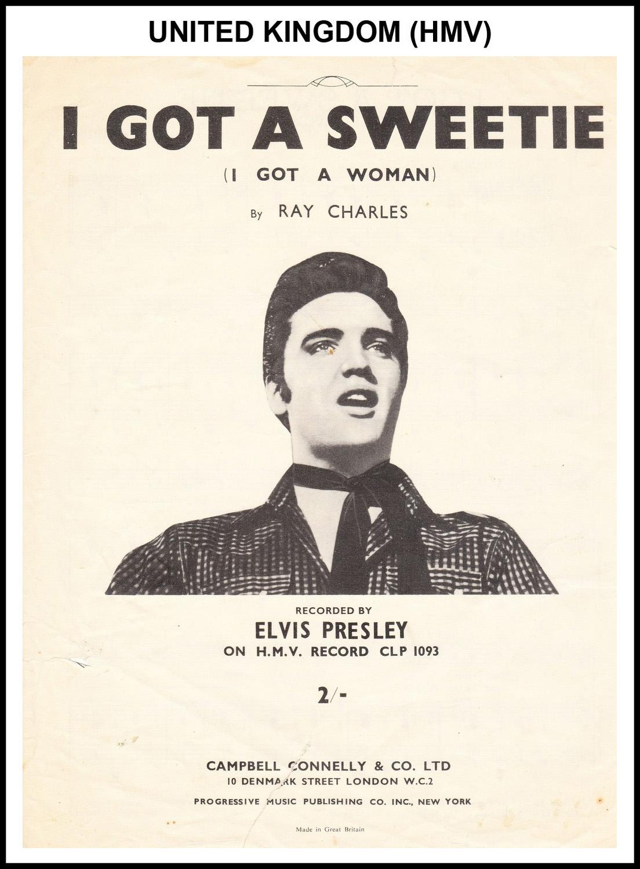 1956 - I Got A Woman UK, HMV) (CHRIS GILES COLLECTION)