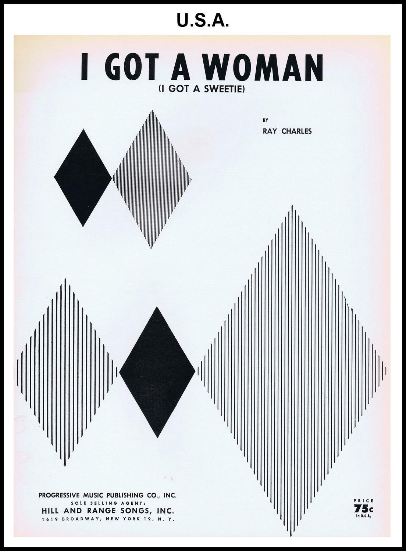 1956 - I Got A Woman (USA 75c) (CHRIS GILES COLLECTION)
