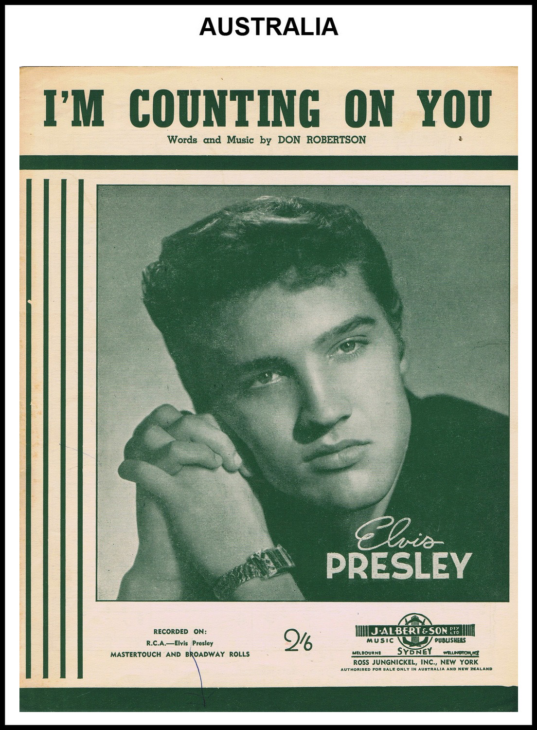 1956 - I'm Counting On You (Australia) (CHRIS GILES COLLECTION)