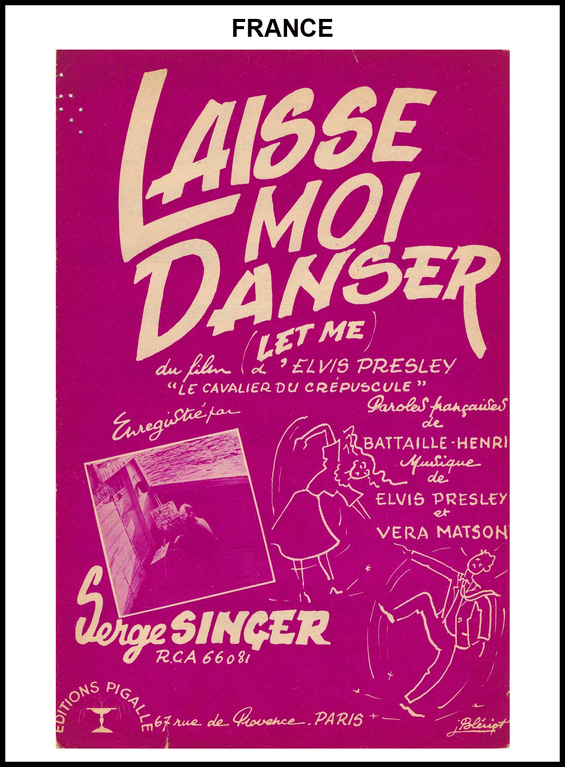 1956 - Let Me (France) (CHRIS GILES COLLECTION)