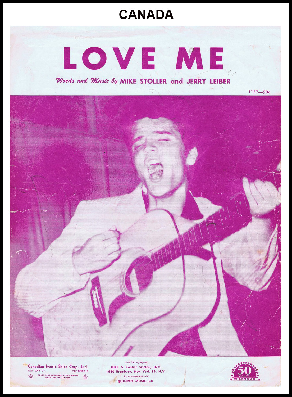 1956 - Love Me (Canada) (CHRIS GILES COLLECTION)