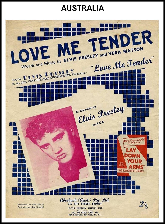 1956 - Love Me Tender (Australia) 3