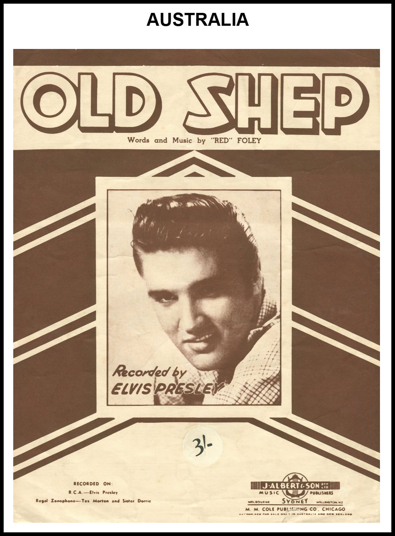1956 - Old Shep (Australia) (CHRIS GILES COLLECTION)