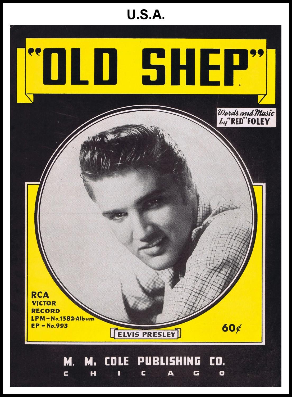 1956 - Old Shep (USA 60c) (CHRIS GILES COLLECTION)