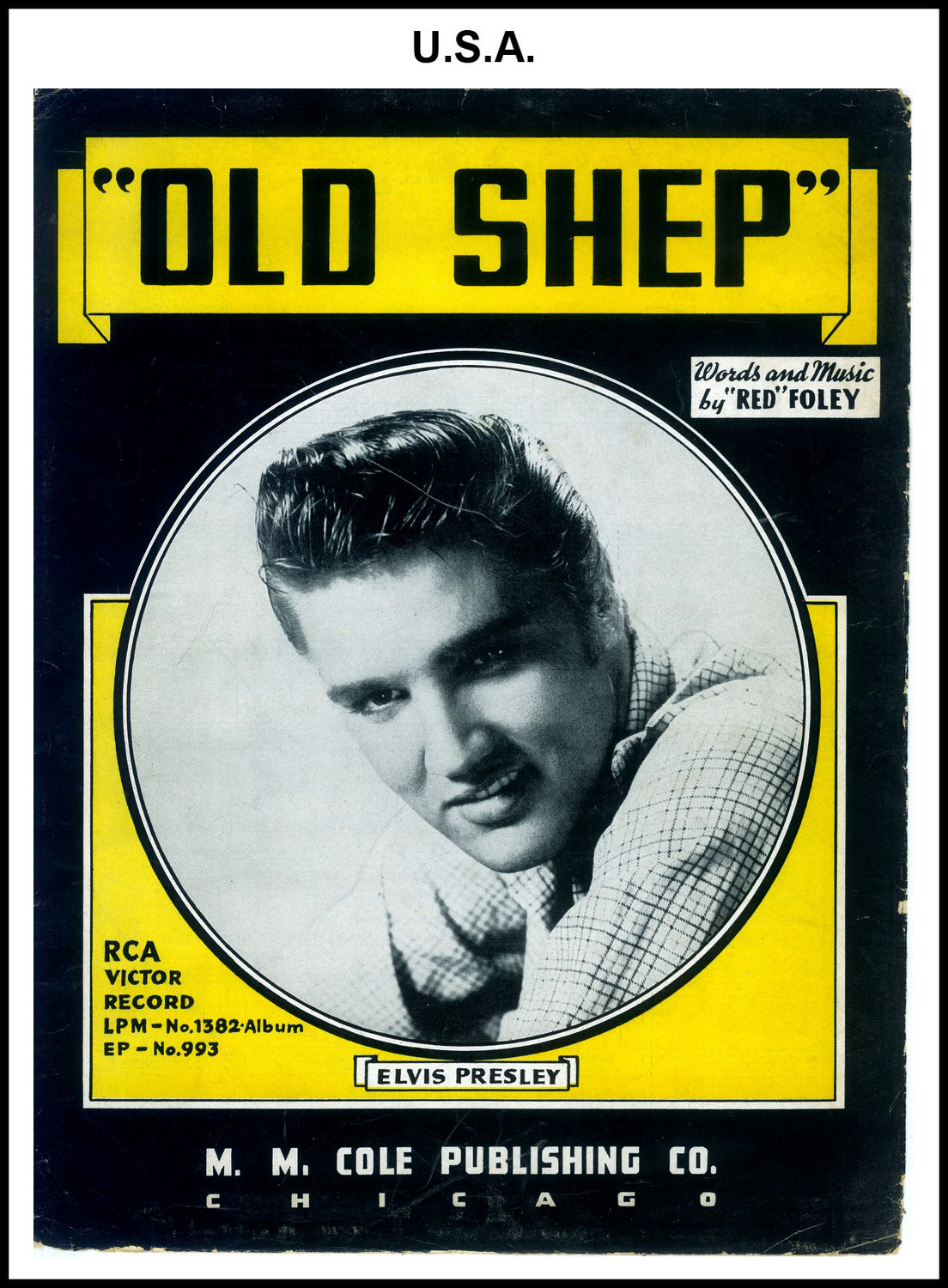 1956 - Old Shep (USA not priced) (JUAN LUIS COLLECTION)