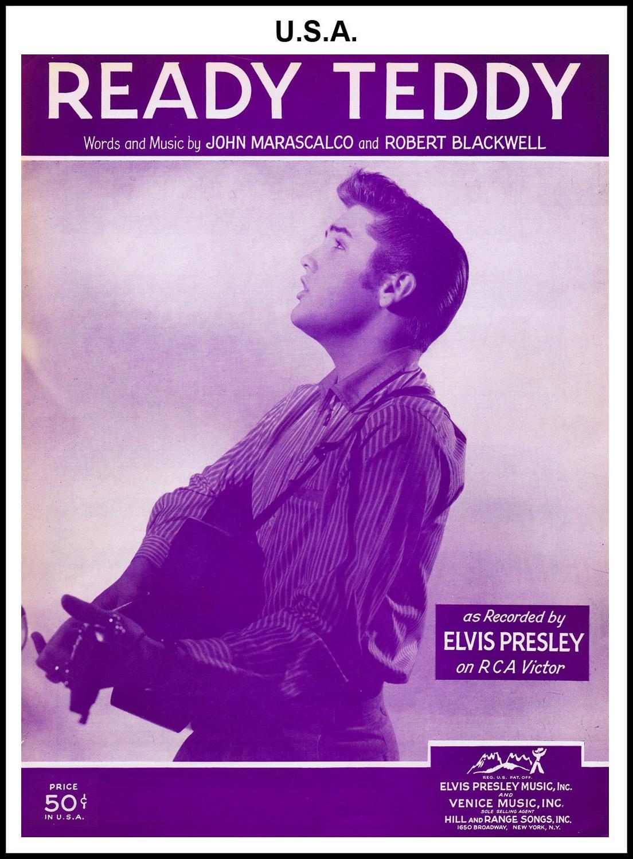 1956 - Ready Teddy (USA 50c) (CHRIS GILES COLLECTION)