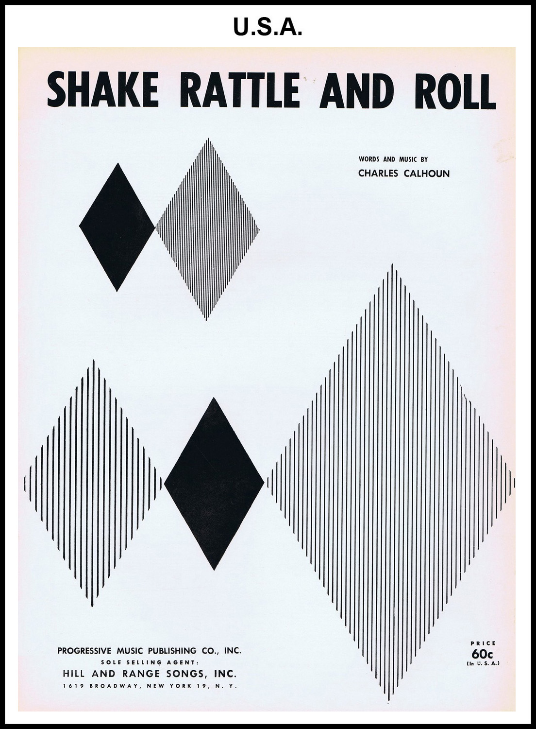 1956 - Shake, Rattle & Roll (USA 60c) (CHRIS GILES COLLECTION)