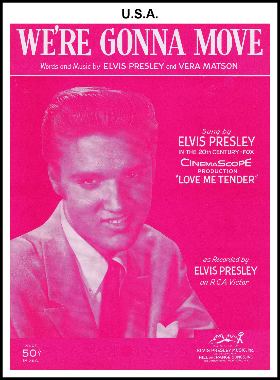 1956 - We're Gonna Move (USA 50c) (CHRIS GILES COLLECTION)