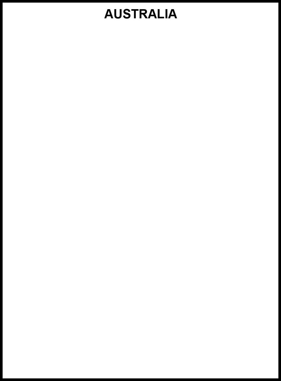Australia empty frame