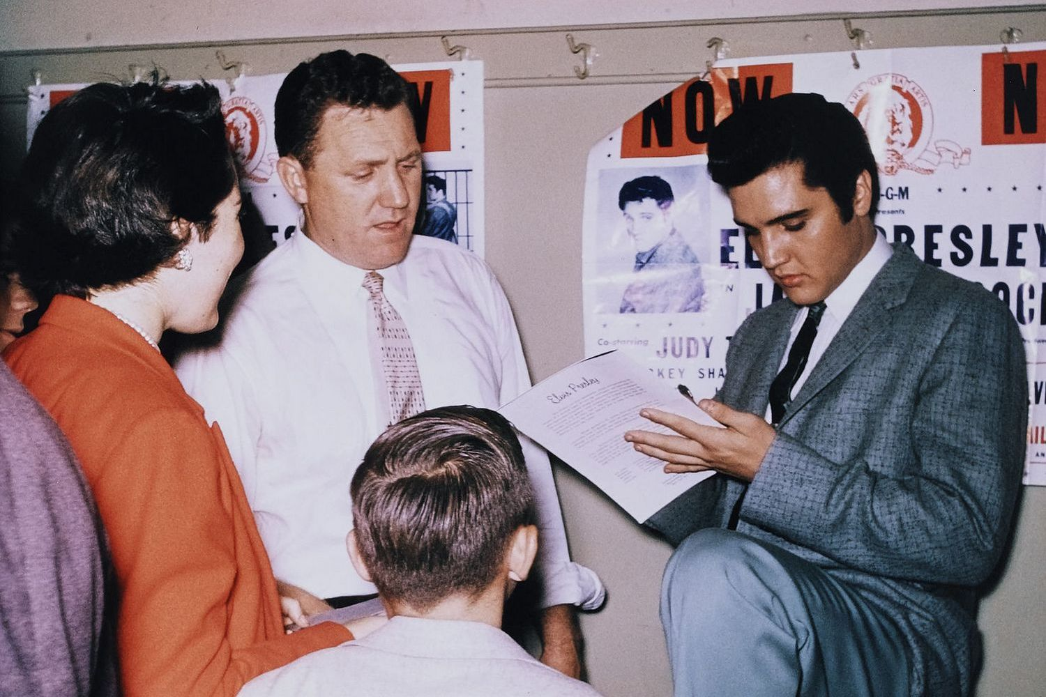 Elvis Presley Souvenir Photo Album - San Francisco (October 26, 1957) (Kari Paju)