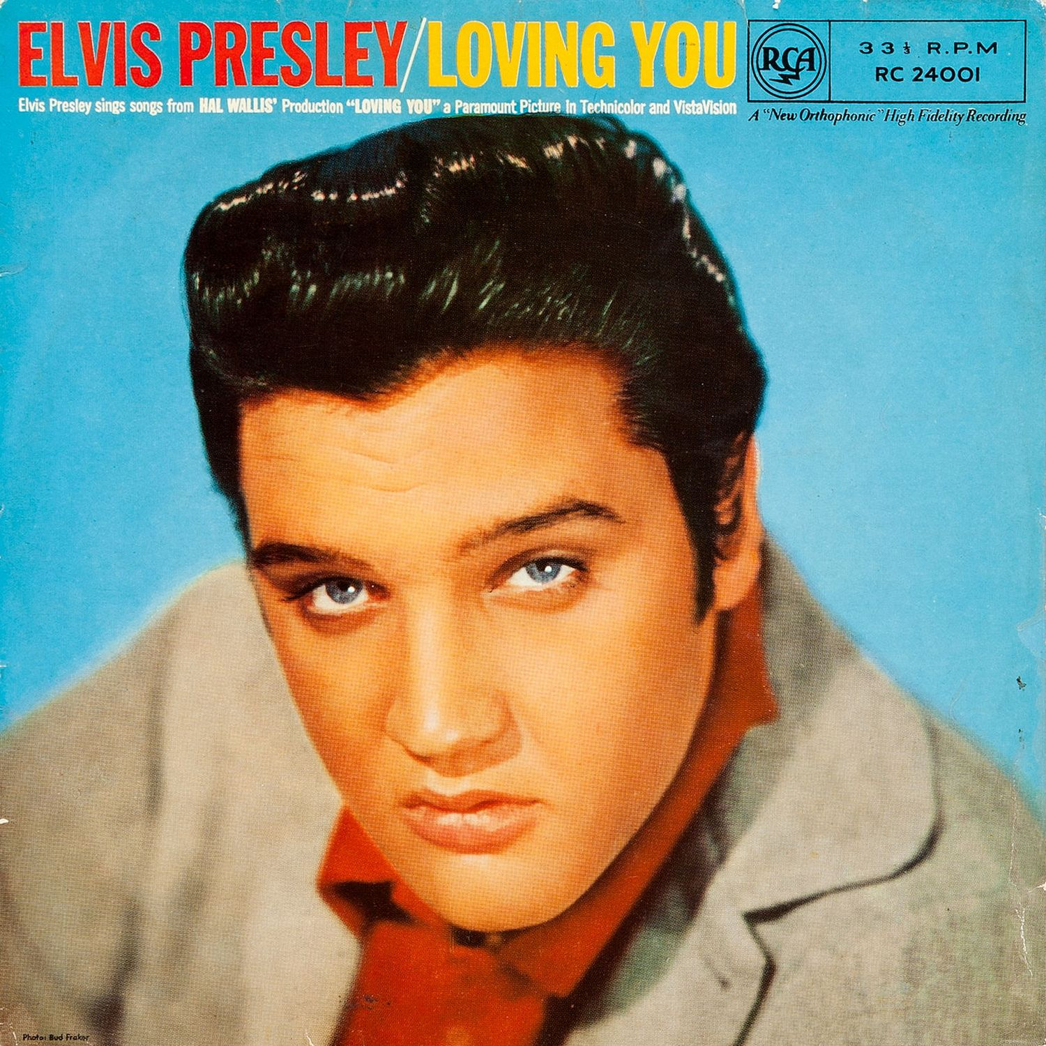 Loving You (UK, August 1957, RC 24001) 01