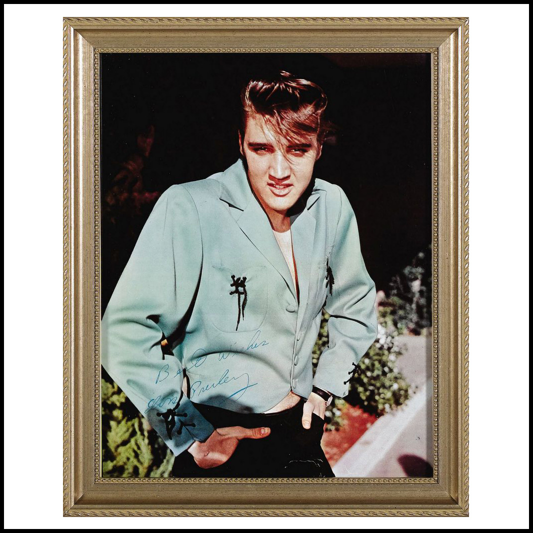 Moss Photo Green-1 (11 x 14) framed (13 x 16)