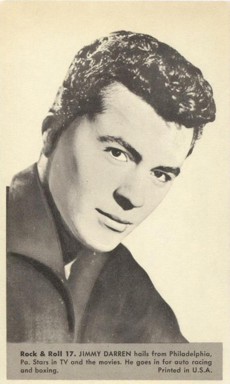 Nu Trading Cards (1959) Rock And Roll Stars 17