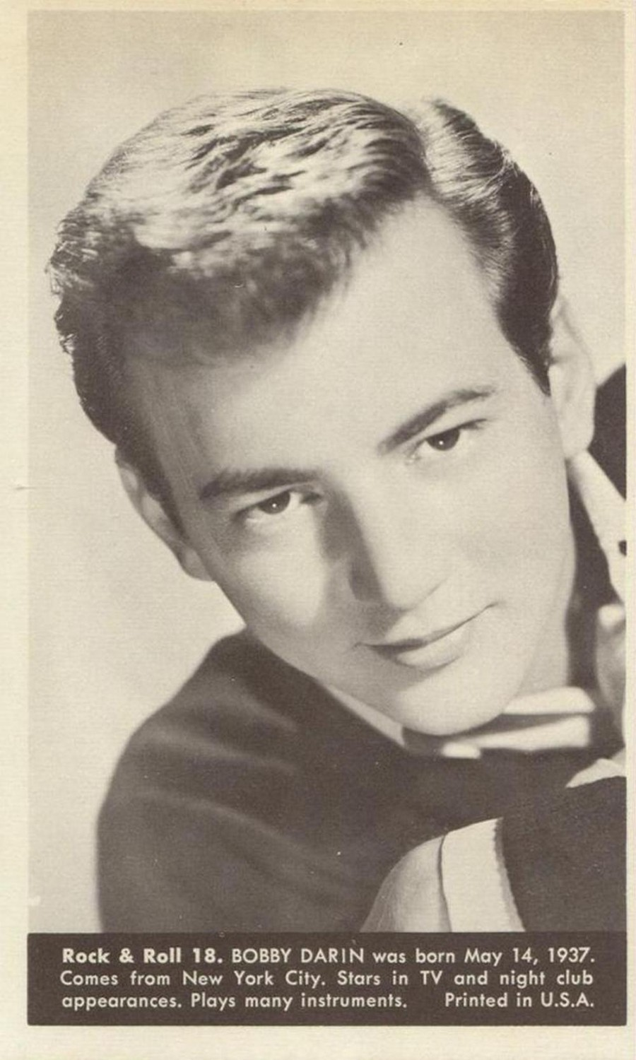 Nu Trading Cards (1959) Rock And Roll Stars 18