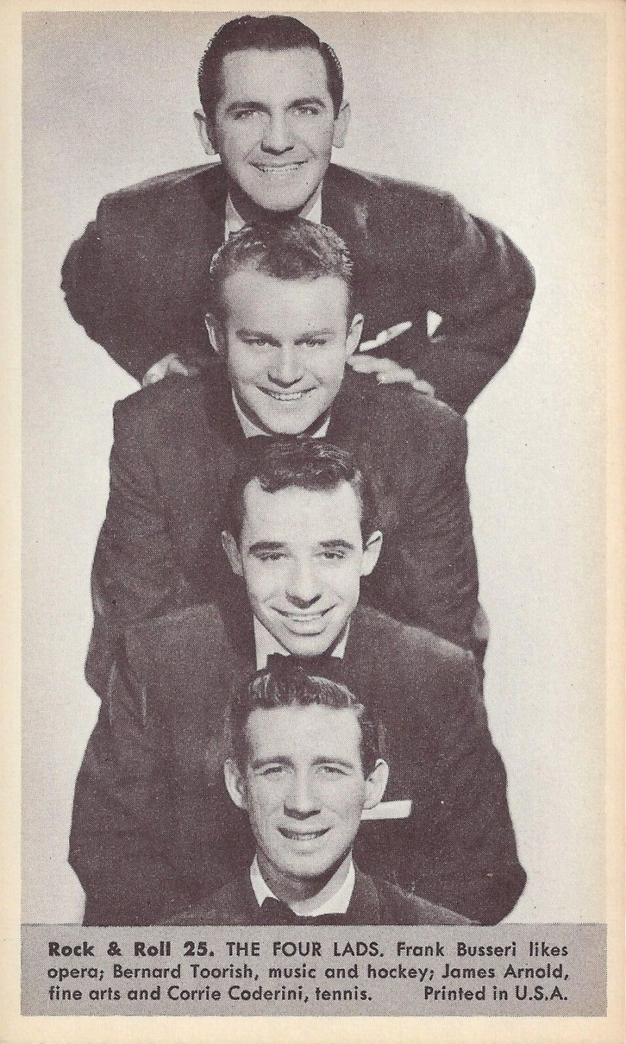Nu Trading Cards (1959) Rock And Roll Stars 25