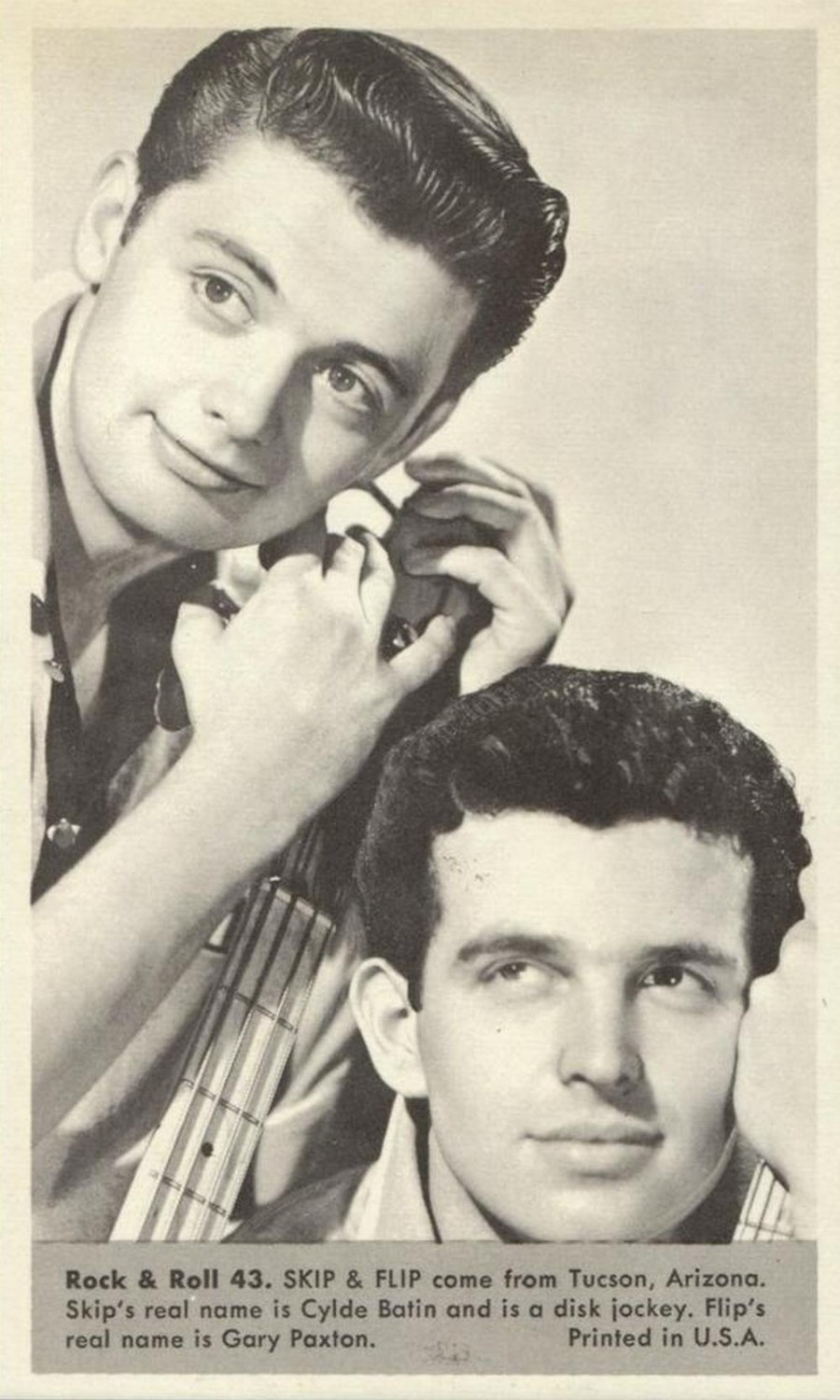 Nu Trading Cards (1959) Rock And Roll Stars 43