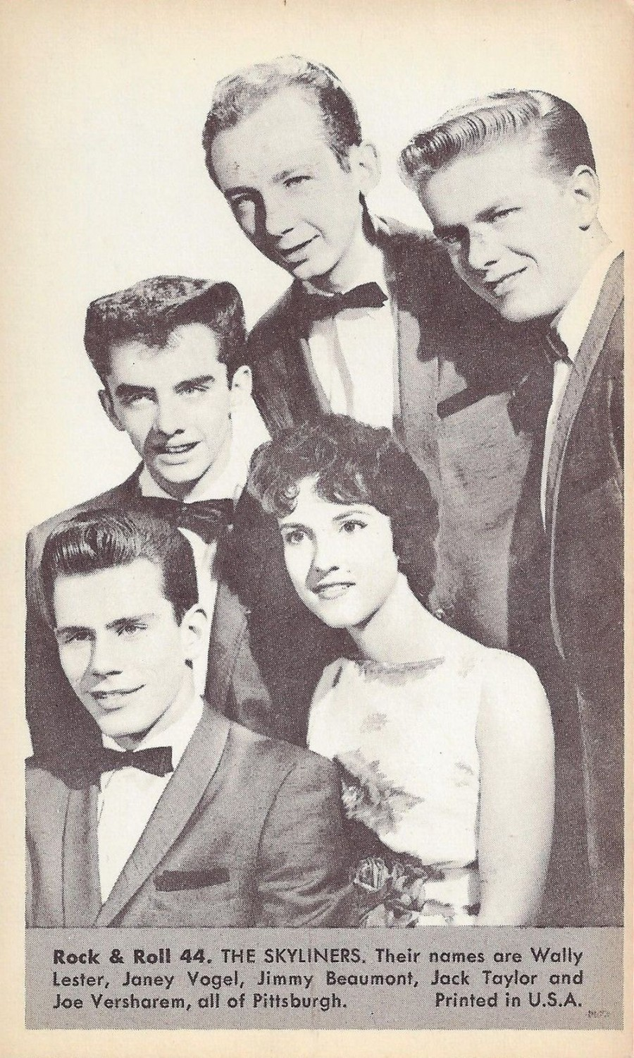 Nu Trading Cards (1959) Rock And Roll Stars 44