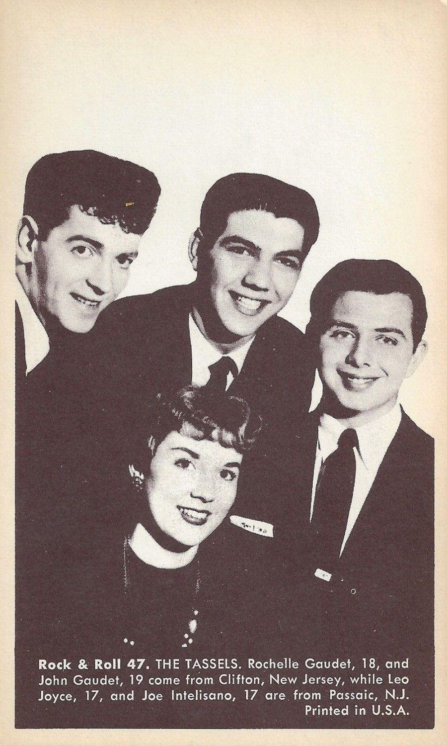 Nu Trading Cards (1959) Rock And Roll Stars 47