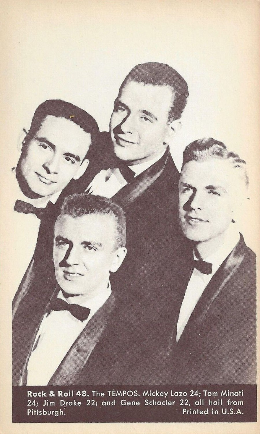 Nu Trading Cards (1959) Rock And Roll Stars 48