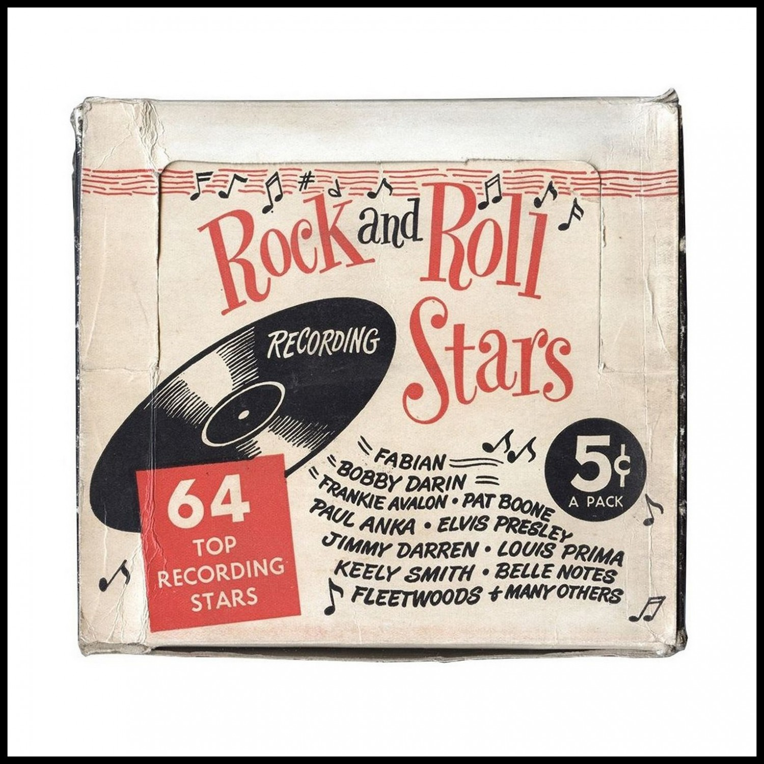 Nu Trading Cards (1959) Rock And Roll Stars box 02