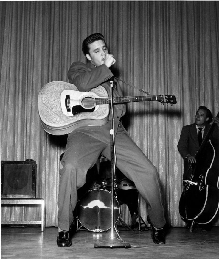 Elvis Presley Venus Room Las Vegas April May 1956