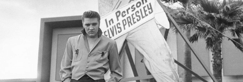 Elvis Presley Las Vegas 1956